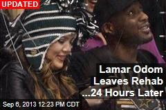 Lamar Odom Now in Rehab