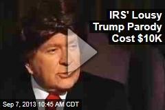 IRS' Lousy Trump Parody Cost $10K