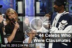 44 Celebs Who Were Classmates