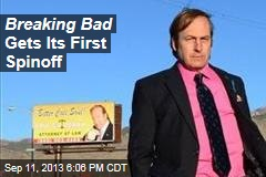 Breaking Bad Gets Its First Spinoff