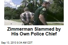 Florida Police Chief Clearly No Fan of Zimmerman