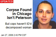 Corpse Found in Chicago Isn't Peterson