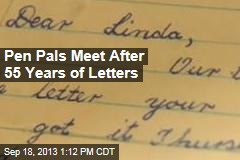 Pen Pals Meet After 55 Years of Letters