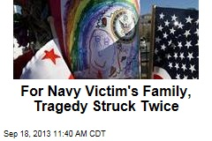 For Navy Victim's Family, Tragedy Struck Twice