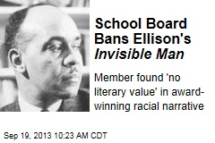 School Board Bans Ellison's Invisible Man