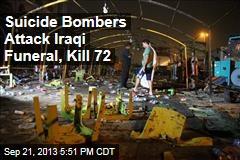 Suicide Bombers Attack Iraqi Funeral, Kill 72