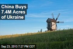 China Buys 3M Hectares of Ukraine