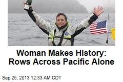 Adventurer Breaks Record With Japan-Alaska Row