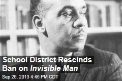 School District Rescinds Ban on Invisible Man