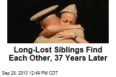 Long-Lost Siblings Find Each Other, 37 Years Later