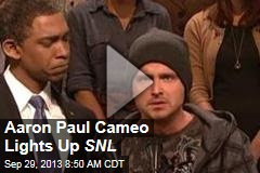 Aaron Paul Cameo Lights Up SNL