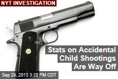 Stats on Accidental Child Shootings Are Way Off