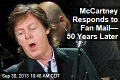 McCartney Responds to Fan Mail— 50 Years Later