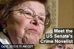 Meet the US Senate's Crime Novelist