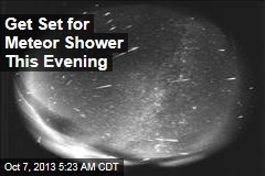 Get Set for Meteor Shower This Evening