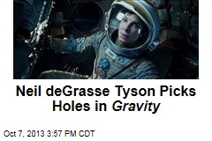 Neil deGrasse Tyson Picks Holes in Gravity