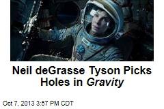 Neil deGrasse Tyson Picks Holes in Gravity