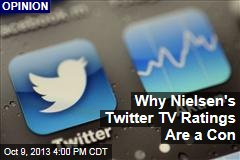 Why Nielsen's Twitter TV Ratings Are a Con