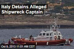 Italy Detains Alleged Shipwreck Captain