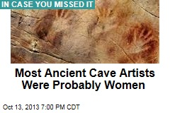 Most Ancient Cave Artists Were Probably Women