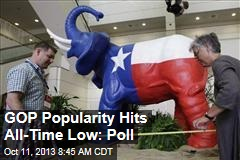 GOP Popularity Hits All-Time Low: Poll