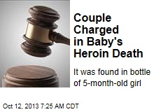 Couple Charged in Baby's Heroin Death