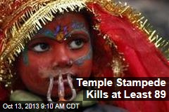Temple Stampede Kills at Least 89