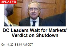 Shutdown: Leaders Wait for Markets' Verdict