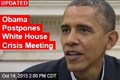 Obama Calls New White House Crisis Meeting