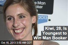 Kiwi, 28, Is Youngest-Ever Booker Winner