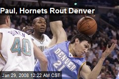 Paul, Hornets Rout Denver