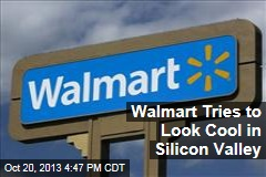Walmart Tries to Look Cool in Silicon Valley