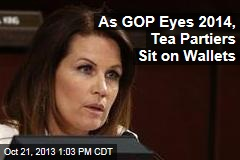 As GOP Eyes 2014, Tea Partiers Sit on Wallets