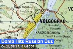 Bomb Hits Russian Bus