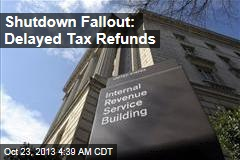 Shutdown Fallout: Shorter Tax Season