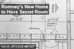 Romney's New Home to Have Secret Room