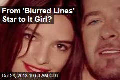 From 'Blurred Lines' Star to It Girl?