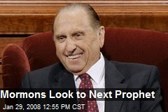 Mormons Look to Next Prophet