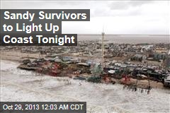 Sandy Survivors to Light Up Coast Tonight