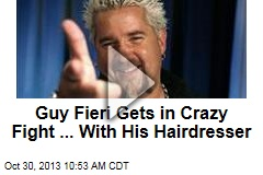 Guy Fieri Gets in Crazy Fight ... With His Hairdresser
