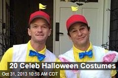20 Celeb Halloween Costumes