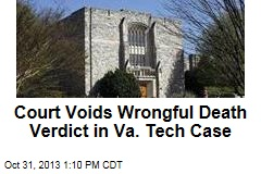 Court Voids Wrongful Death Verdict in Va. Tech Case