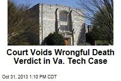 Court Voids Wrongful Death Verdict in Va. Tech Case