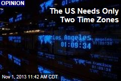 The US Only Needs Two Time Zones