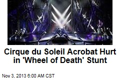 Cirque du Soleil Acrobat Hurt in 'Wheel of Death' Stunt