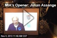 MIA's Opener: Julian Assange