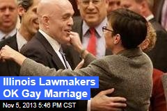 No. 15: Illinois Lawmakers OK Gay Marriage