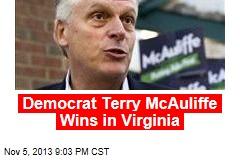 Virginia Governor's Race Too Close to Call