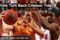 Vols Turn Back Crimson Tide