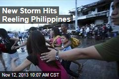 New Storm Hits Reeling Philippines